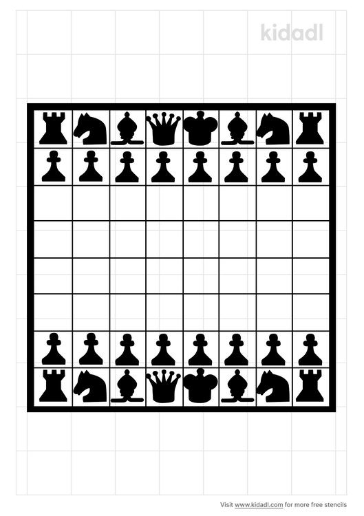 simple-chess-stencil