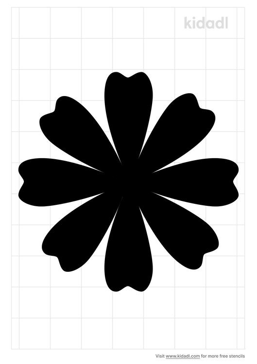 simple-daisy-stencil