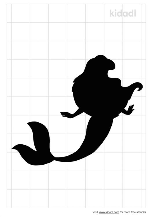 simple-stencil-mermaid