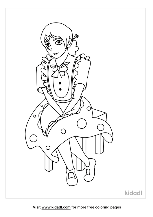 sitting-maid-coloring-pages.png