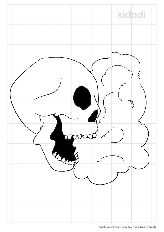skull-and-smoke-stencil