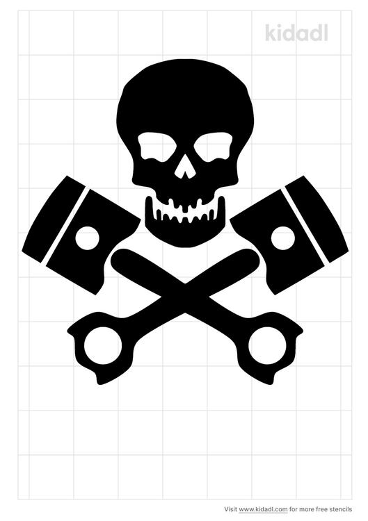 skull-cross-pistons-stencil