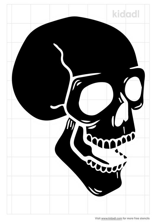 skull-open-mouth-stencil