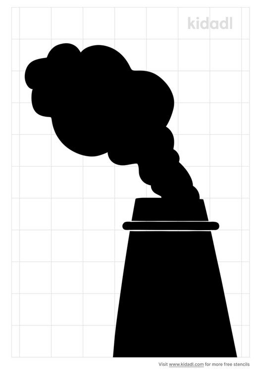 smoke-stack-stencil