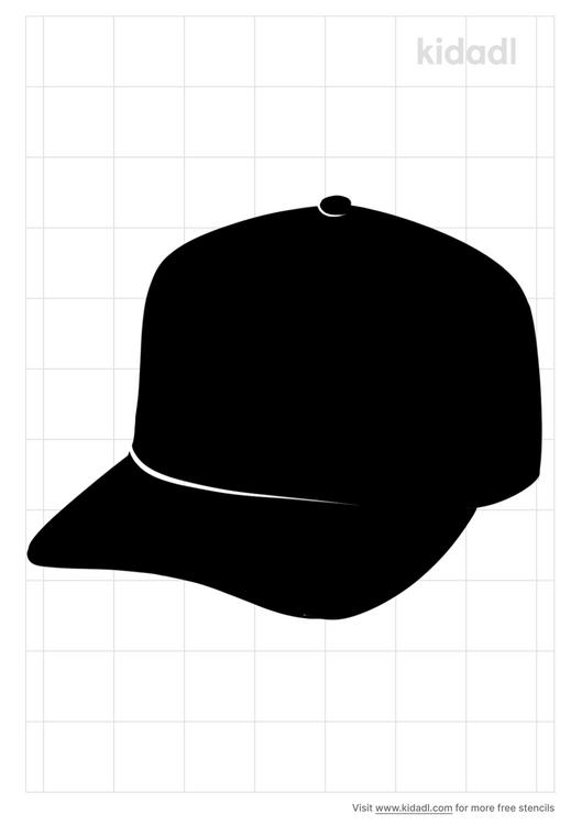 snapback-hat-stencil