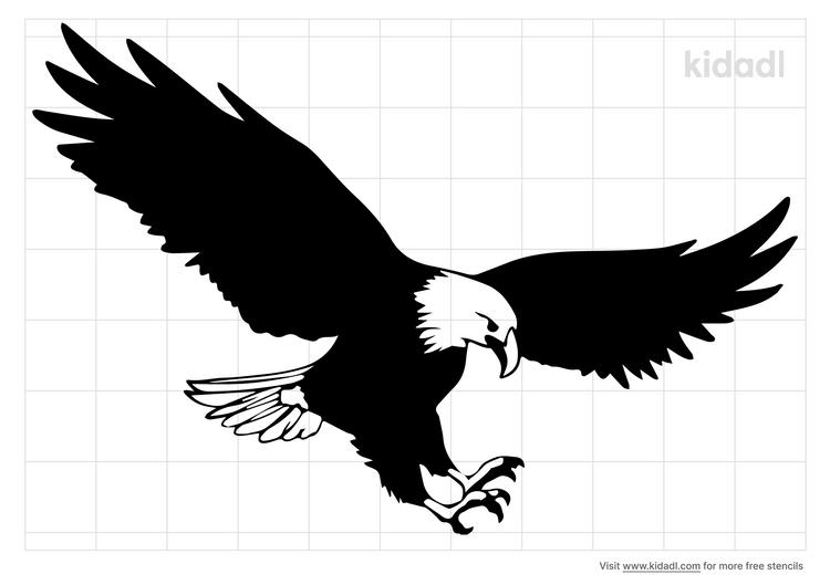 soaring-eagle-stencil