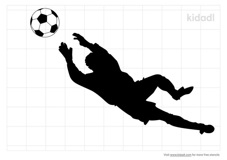 soccer-goalie-stencil