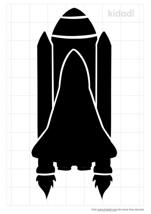 space-shuttle-stencil