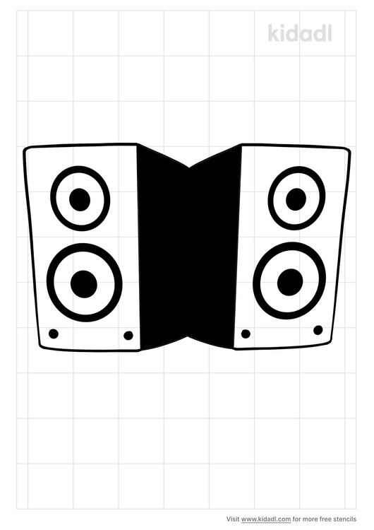 speaker-stencil