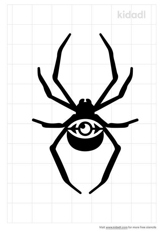 spider-eye-stencil