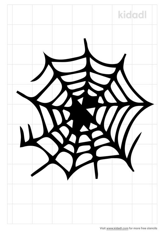 spider-web-stencil