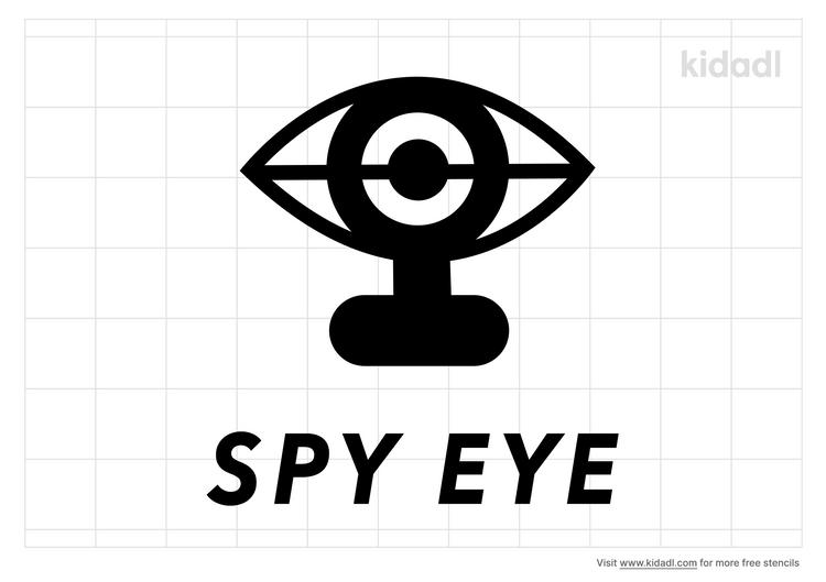 spy-eye-stencil