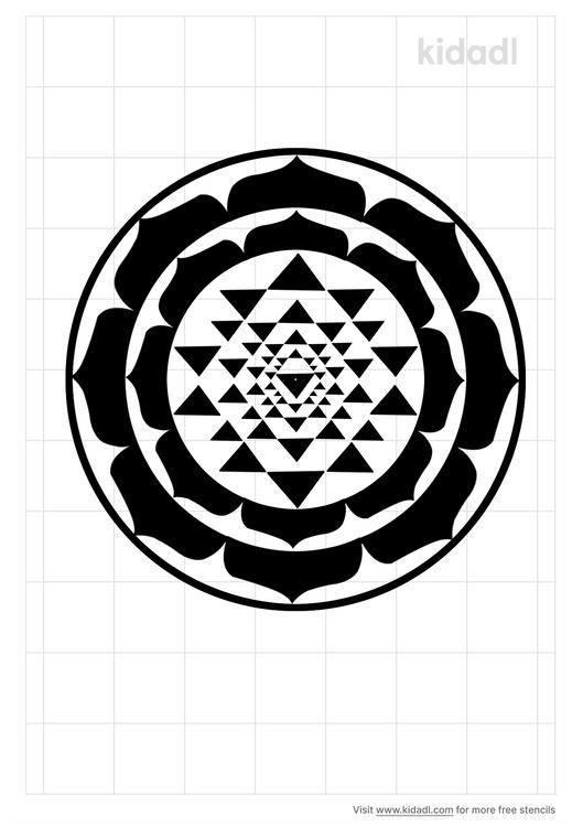 sri-yantra-stencil