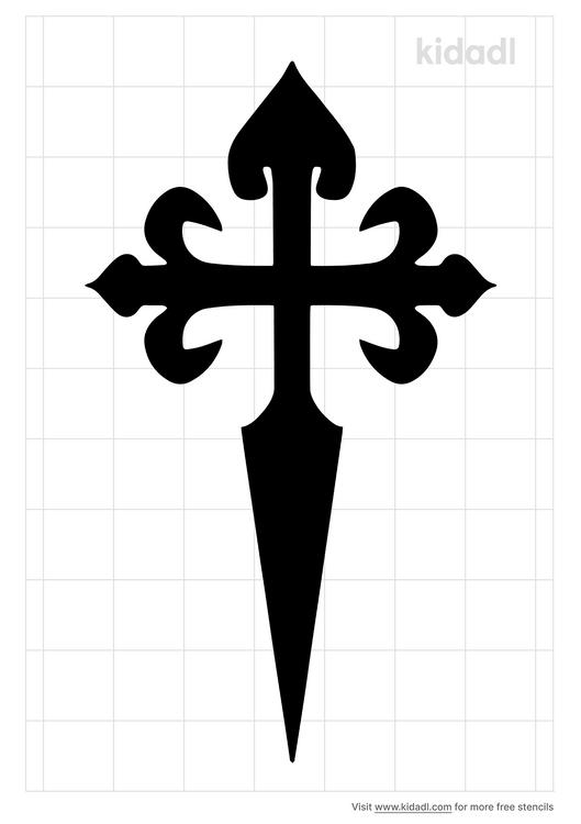 st-james-cross-stencil