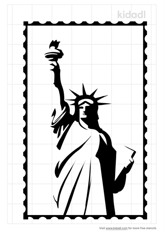 statue-of-liberty-stamp-stencil