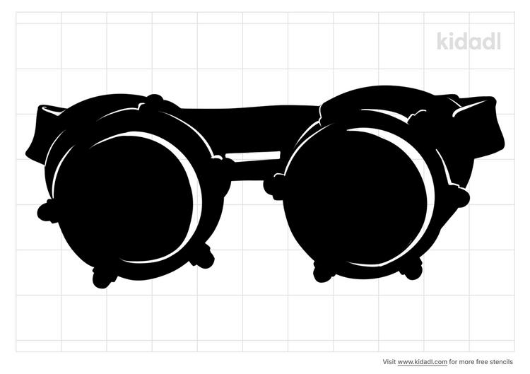 steampunk-goggles-stencil