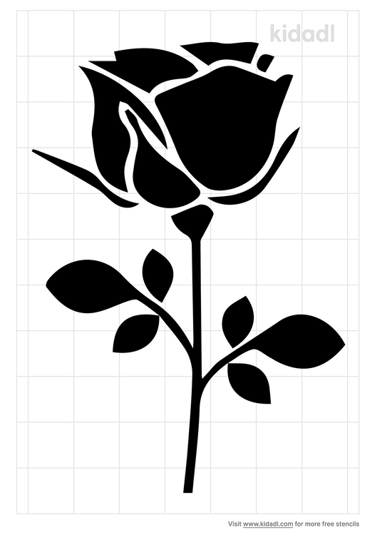 stem-plant-stencil