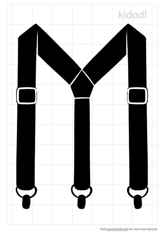 suspenders-stencil