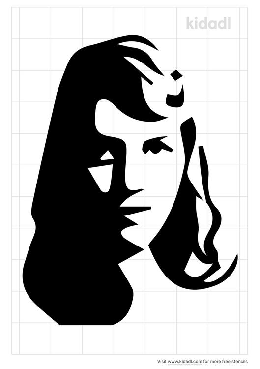 sylvia-plath-stencil