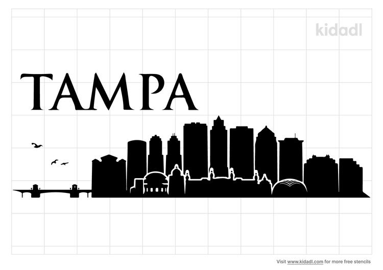 tampa-bay-skyline-stencil
