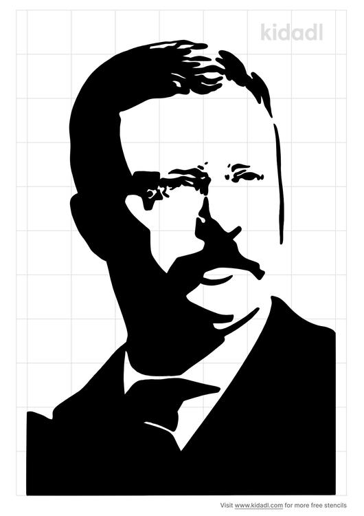 teddy-roosevelt-stencil