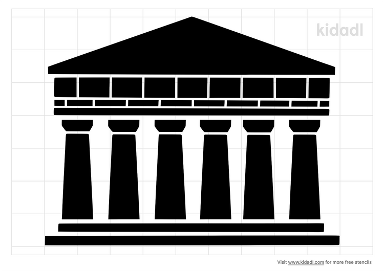 temple-drawing-stencil