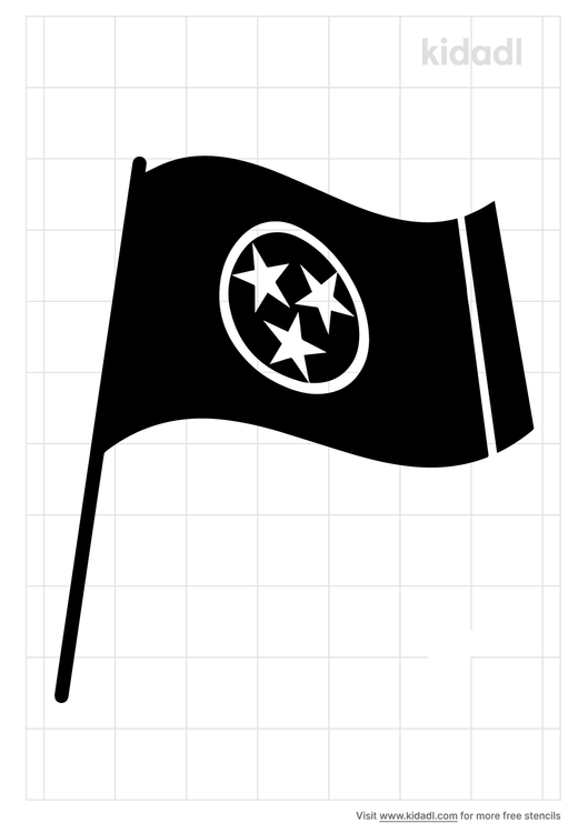 tennessee-flag-stencil