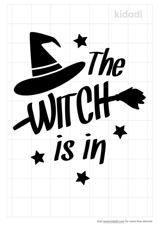 the-witch-is-in-stencil