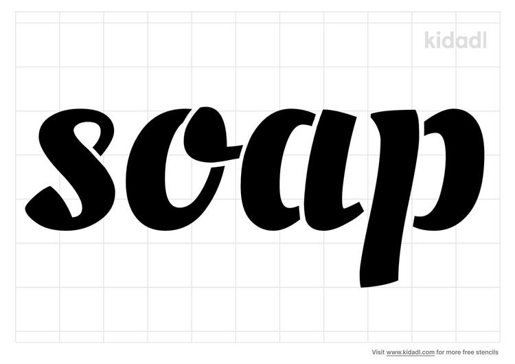 the-word-soap-stencil
