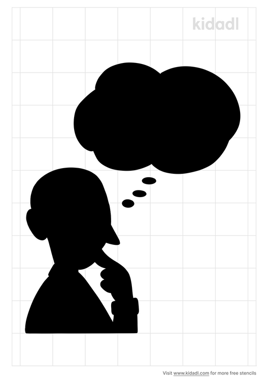 thinking-man-with-thought-bubble-stencil