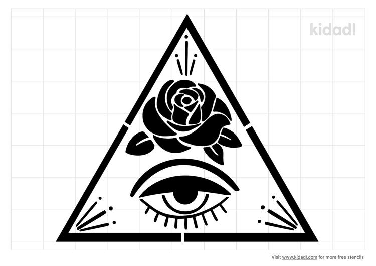 third-eye-rose-stencil
