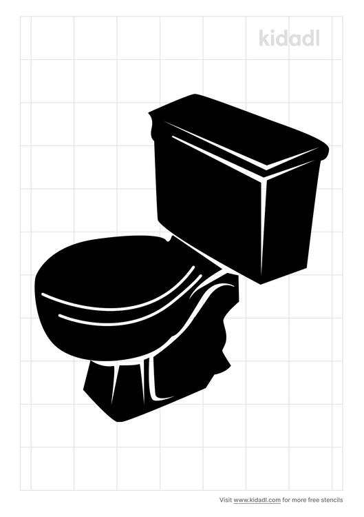 toilet-stencil