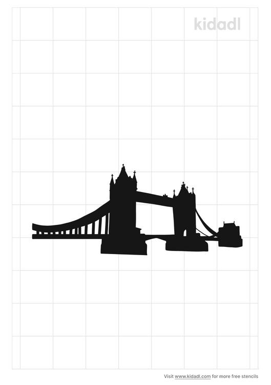 tower-bridge-stencil