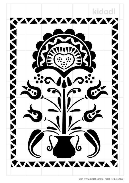 traditional-european-folk-art-stencil