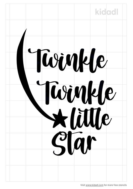 twinkle-twinkle-little-star-stnecil
