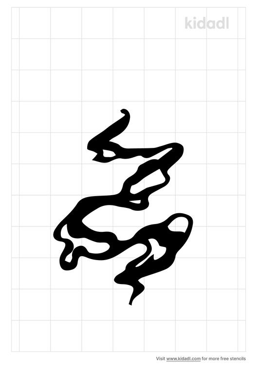upward-smoke-effect-stencil