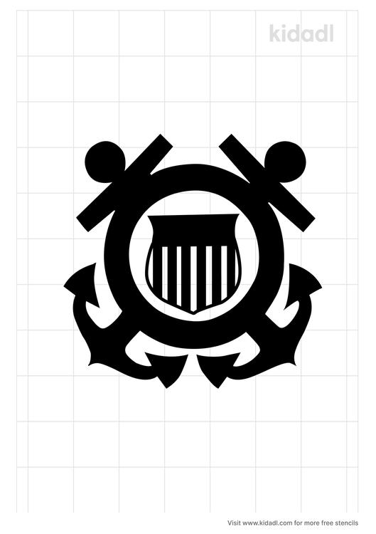 us-coast-guard-stencil