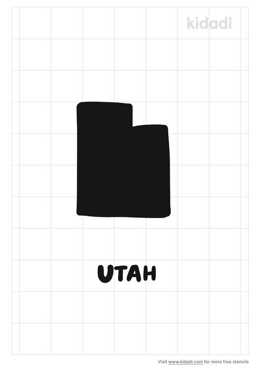 utah-stencil
