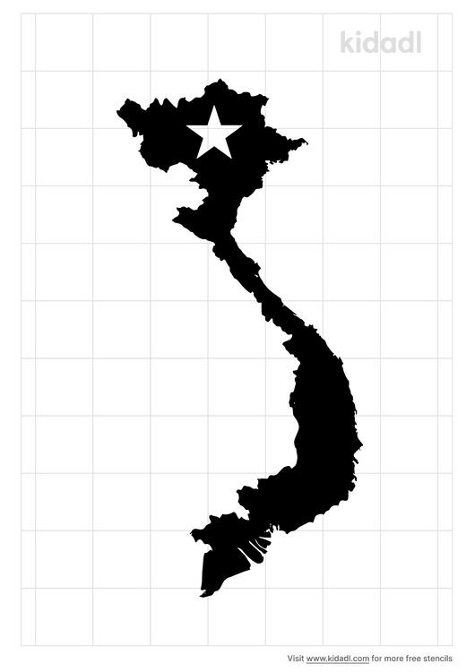 vietnam-stencil