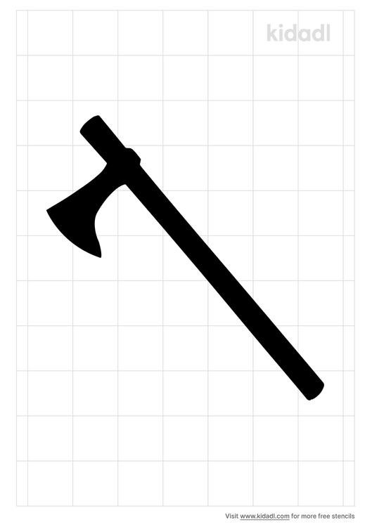viking-axe-stencil