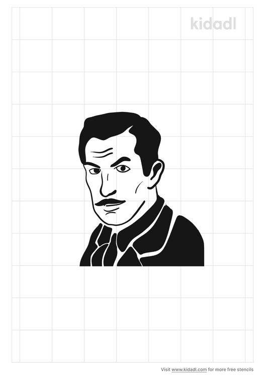 vincent-price-stencil