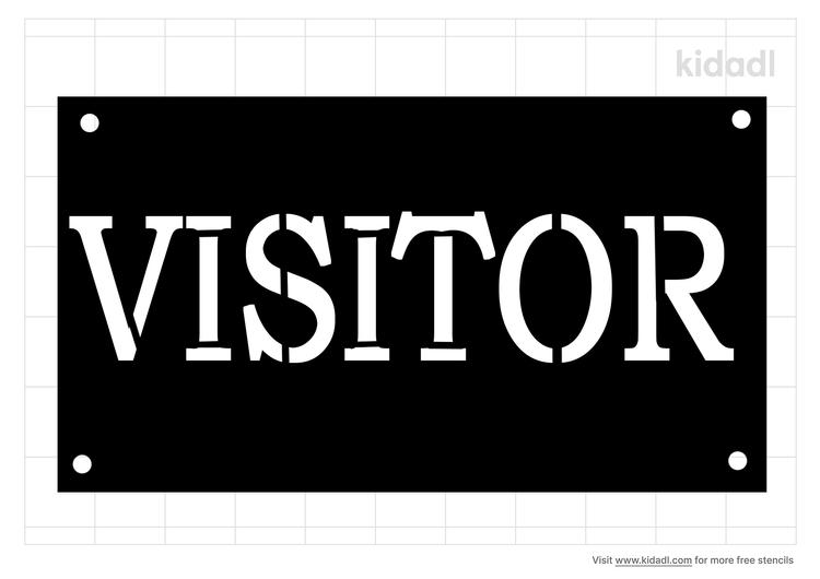 visitor-stencil