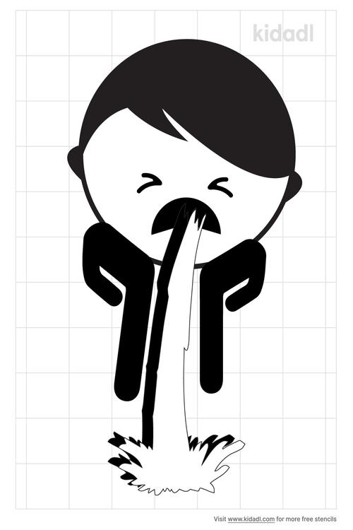 vomiting-stencil