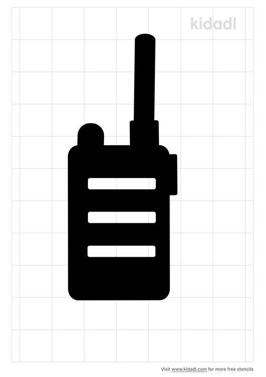 walkie-talking-stencil