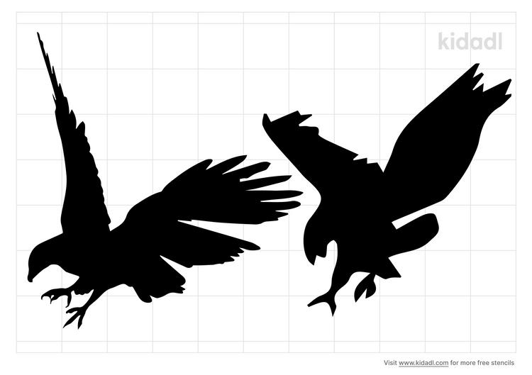 war-eagle-stencil