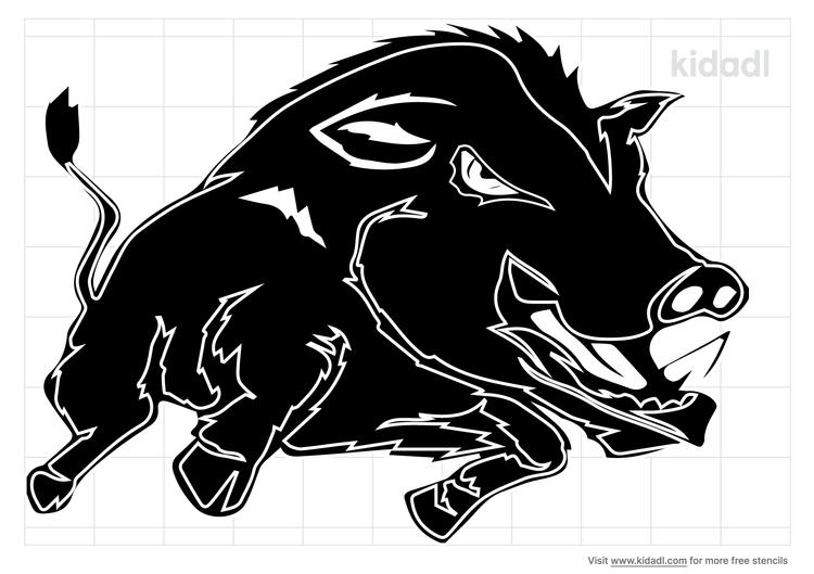wild-hog-stencil