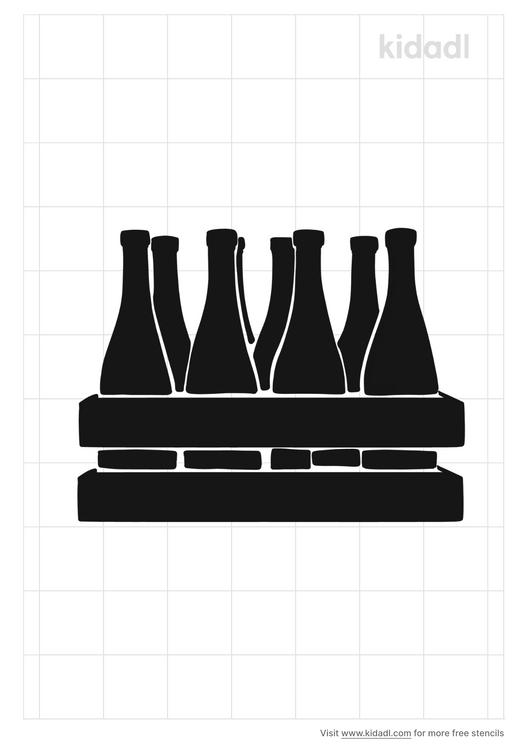 wine-bottle-rack-stencil