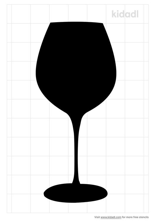 wine-glasses-stencil