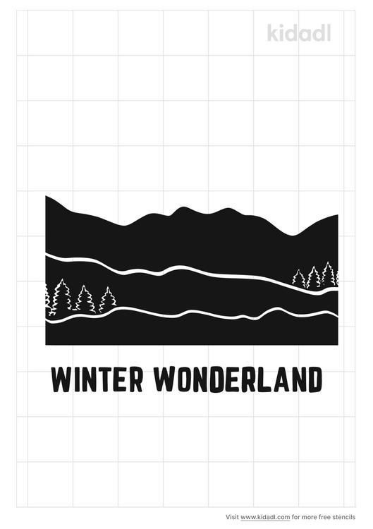 winter-wonderland-stencil