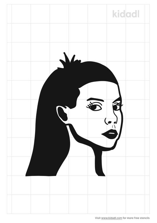 yolandi-visser-stencil